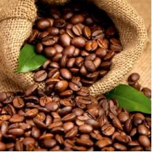 Кава в зернах купаж 30% арабіки; 70 % робусти, 1 кг