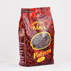 Кава в зернах Віденська кава Робуста Індия Черрі АА, 500 г