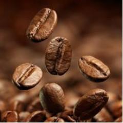 Кава в зернах купаж 30% арабіка (Бразилія Сантос), 70% робуста Індонезія 1 кг