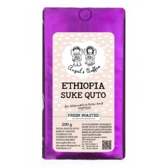 Кава в зернах Angel's Coffee Ethiopia Suke Quto, моносорт, 200 г