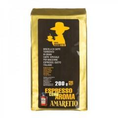 Кава в зернах Pippo Maretti Espresso Como Aroma Amaretto, 200 г