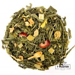 Чай зелений ароматизований Клюква, 500 г