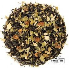 Чай чорний ароматизований Суниця з вершками чорна, 500 г