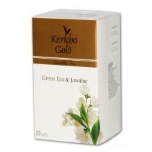 """Kericho Gold """"Чай зелений із жасмином"""", 20 х 2 г"""