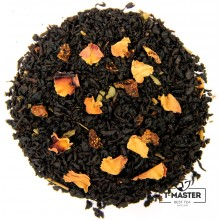 Чай чорний ароматизований Полуниця з вершками, 500 г