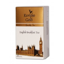 """Kericho Gold Чорний класичний чай """"Англійський сніданок"""" (20 шт)"""