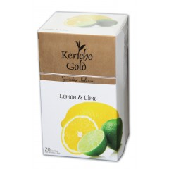 "Kericho Gold ""Лимон та лайм"", 20 х 2 г"