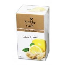"""Kericho Gold """"Імбир з лимоном"""", 20 х 2 г"""