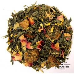Чай зелений ароматизований Получничний мусс, 500 г