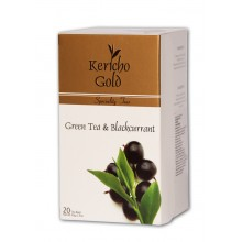 """Kericho Gold """"Чай зелений із чорною смородиною"""", 20 х 2 г"""